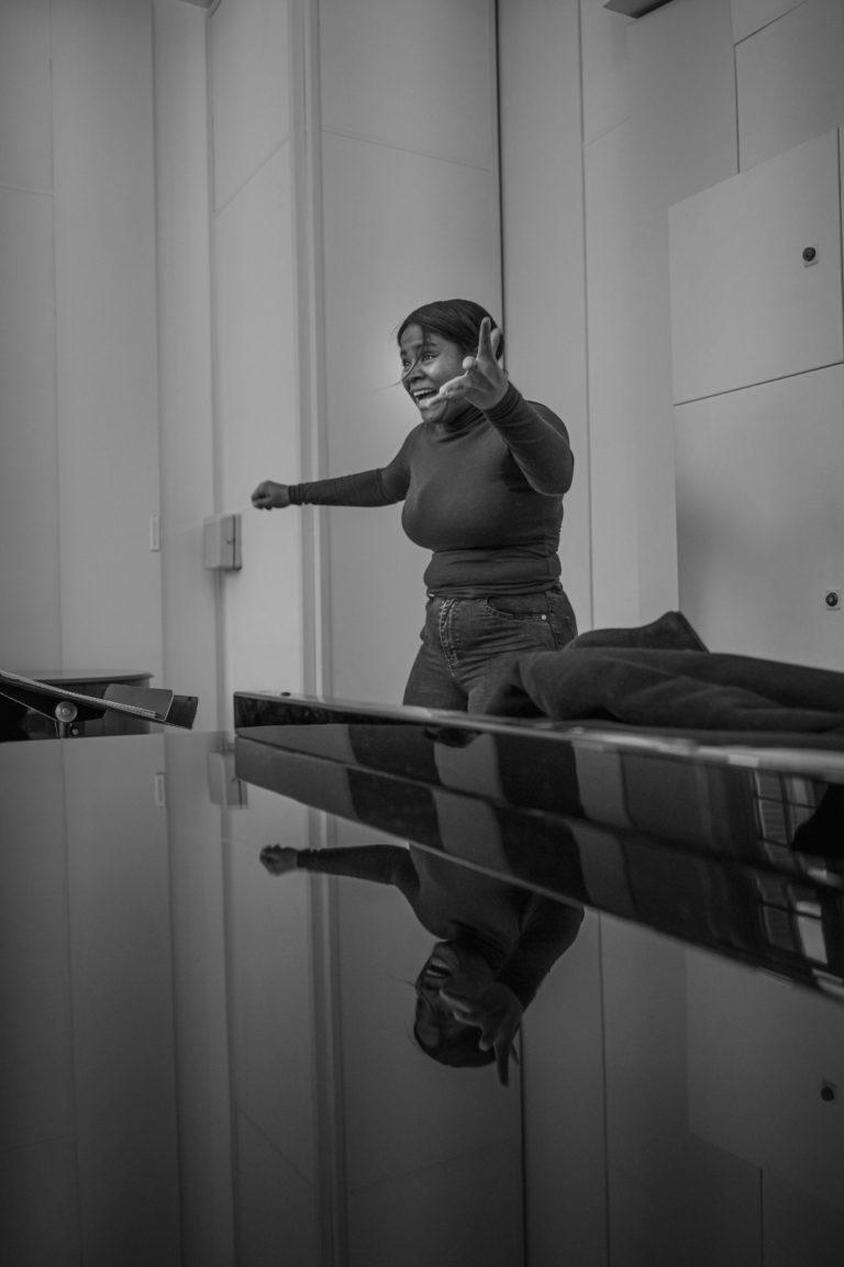 Photos of the masterclass of 12/02/2021 © Romain Alcaraz